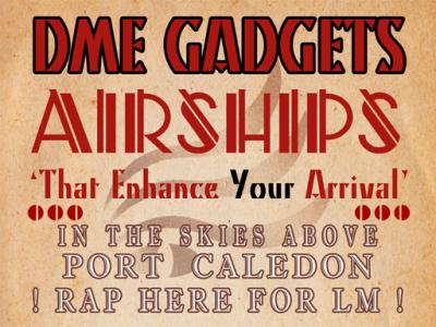 DME Gadgets landmark poster